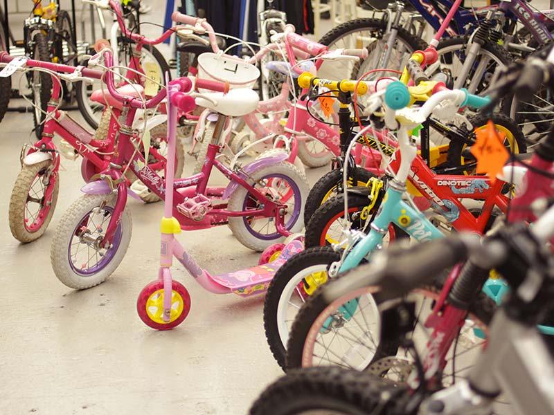 Kids Bike Sizing in Newark