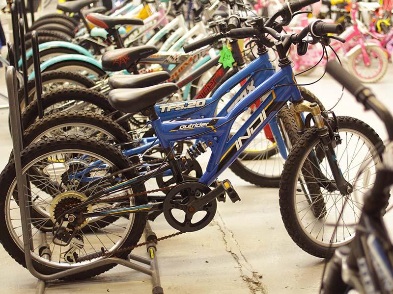 Kids Bike Test Ride in Newark
